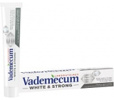 Vademecum White & Strong toothpaste removes stains, whitens teeth and strengthens tooth enamel 75 ml
