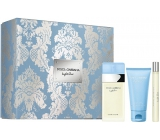 Dolce & Gabbana Light Blue EdT 50 ml Eau de Toilette + 50 ml Body Cream + Eau de Toilette 10 ml for Women