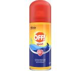 Off! Sport tick repellent, mosquitoes quick drying spray 100 ml