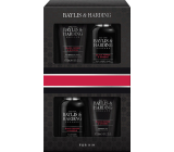 Baylis & Harding Men Black Pepper and Ginseng face cleansing gel 100 ml + body and hair cleansing gel 100 ml + aftershave 50 ml + shower gel 50 ml, cosmetic set