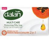Dalan Multi Care Rainbow Papaya & Caring Milk toilet soap 90 g