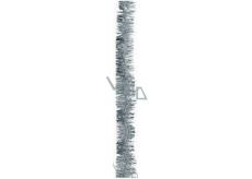 Řetěz vánoční, stříbrný délka 200 cm