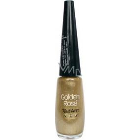 Golden Rose Nail Art decorating nail polish shade 120 7.5 ml
