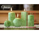 Lima Marble Opium scented candle green cylinder 50 x 100 mm 1 piece