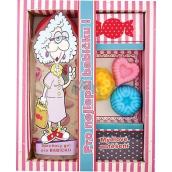 Bohemia Gifts & Cosmetics For best grandma shower gel 300 ml + handmade soap 3 pieces, cosmetic set