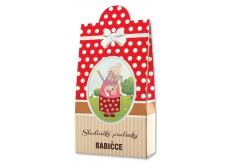 Bohemia Gifts & Cosmetics Pro babičku Pralinky z mléčné a hořké čokolády s náplní se smetanou a Irish whiskey 100 g