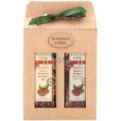 Bohemia Gifts & Cosmetics Kofein sprchový gel 250 m + šampon 250 ml, kosmetická sada