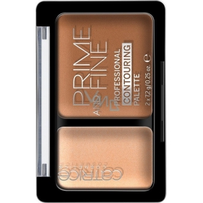 Catrice Prime and Fine Contouring Palette contouring palette 030 Sunny Sympathy 10 g