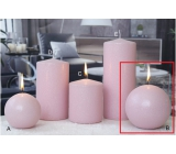CANDLE PILLOW 100 Ice pastel Pink 3167