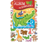 Album for stickers hologram animals 16 x 29 cm + 40 pieces of stickers