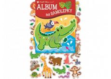 Album for stickers hologram animals 16 x 29 cm + 40 pieces of stickers