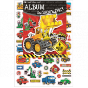 Album for stickers hologram working machine 16 x 29 cm + 45 pieces of stickers