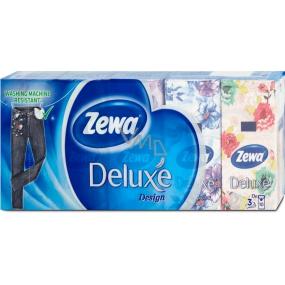 Zewa Deluxe Design handkerchiefs 10 x 10 pieces