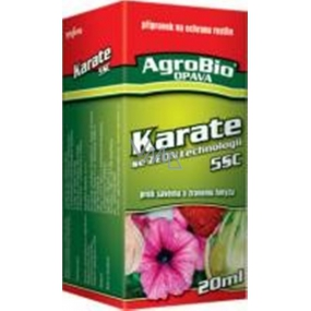 AgroBio Karate with Zeon technology 5CS preparation against sucking and carnivorous insects 20 ml