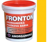 Fronton Inorganic powder paint Yellow for outdoor and indoor use 800 g