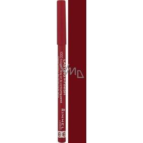 Rimmel London 1000 Kisses Stay On Lip Liner 063 Black Tulip 1.2 g