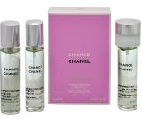 Chanel Chance Eau Fraiche toaletní voda náplně pro ženy 3 x 20 ml