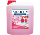 Sidolux Universal Flower Japanese sour cherries detergent for all washable surfaces and floors 5 l