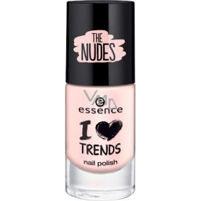 Essence I Love Trends Nail Polish The Nudes nail polish 05 Pure Soul 8 ml