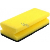 MaKro Gastro Sponge for dishes shaped yellow 15 x 9 x 4.5 cm 1 piece
