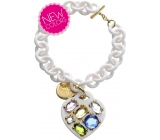 Ops! Objects Stone Bracelet bracelet OPSBR-173 white