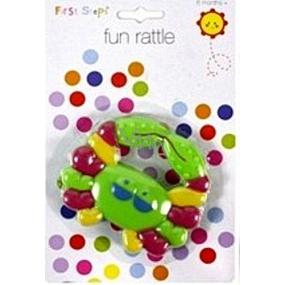 First Steps Rattle pet green