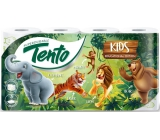 This Kids toilet paper white with animal print 3 ply 150 pieces 8 pieces