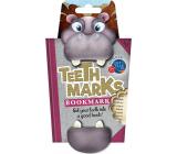 If Teeth Marks Bookmarks Hippopotamus 97 x 17 x 200 mm