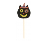 Cat made of felt recess 9 cm + skewers