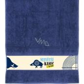 Albi Towel The largest boar blue 90 x 50 cm