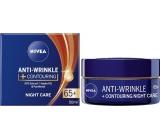 Nivea Anti-Wrinkle + Contouring night cream for contour improvement 65+ 50 ml