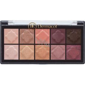 Dermacol Eyeshadow Palette Matt and Pearl Eyeshadow Palette 01