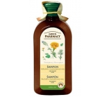 Green Pharmacy Marigold and Rosemary Oil Shampoo for Normal - Oily Hair 350 ml