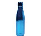 Metallic purple thermo bottle