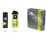 Adidas Pure Game 150 ml men's deodorant spray + 250 ml shower gel, cosmetic set