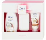 Dove Coconut Relaxing Shower Gel 250 ml + hand cream 75 ml + manicure