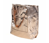 Albi Eco handbag made of washable laminated paper - gold 30 cm x 38 cm x 10.5 cm