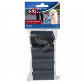 Trixie Dog excrement bags 4 rolls x 20 bags black