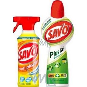 Savo Anti mildew bathroom 500 ml + Savo Plus Gel Eucalyptus 750 ml
