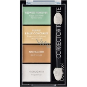 Dermacol Corrector Palette 4-color corrector and brightener 9 g