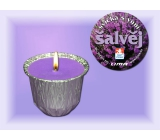 Lima Ozona with the scent of sage scented candle 115 g