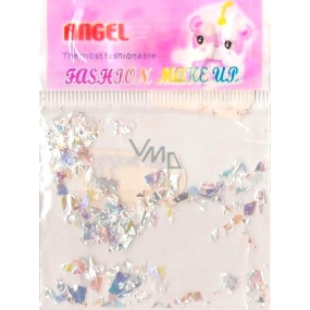 Angel Nail decorations pieces white 1 pack