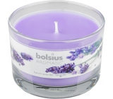 Bolsius Aromatic French Lavender vonná svíčka ve skle 90 x 65 mm 247 g