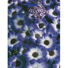 Nekupto Gift paper bag 23 x 18 x 10 cm Purple flowers 1107 40 KFM