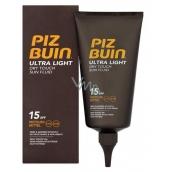 Piz Buin Ultra Light SPF15 ultra light moisturizing fluid for tanning 150 ml