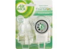 Air Wick Fresh Ivory Freesia Bloom - White freesia flowers electric air freshener complete 19 ml