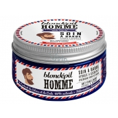 Blondépil Face and beard moisturizing cream with a fresh scent of 100 ml