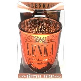 Albi Glittering Candle Holder LENKA, 7 cm
