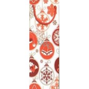 Nekupto Gift Paper Bag 33 x 10 x 9 cm Christmas 1250 30 WLH