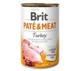 Brit Paté & Meat Turkey and chicken pure meat paté complete dog food 400 g